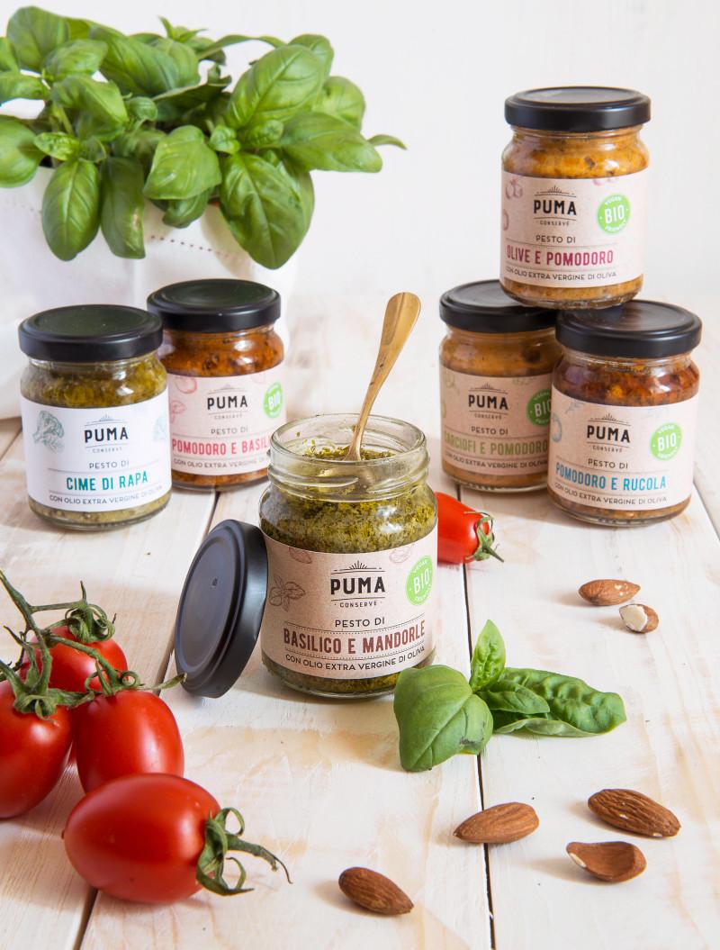 food packaging Puma Conserve sughi pronti