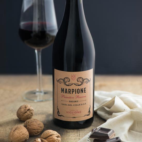 etichette food packaging Marpione - azienda Viglione
