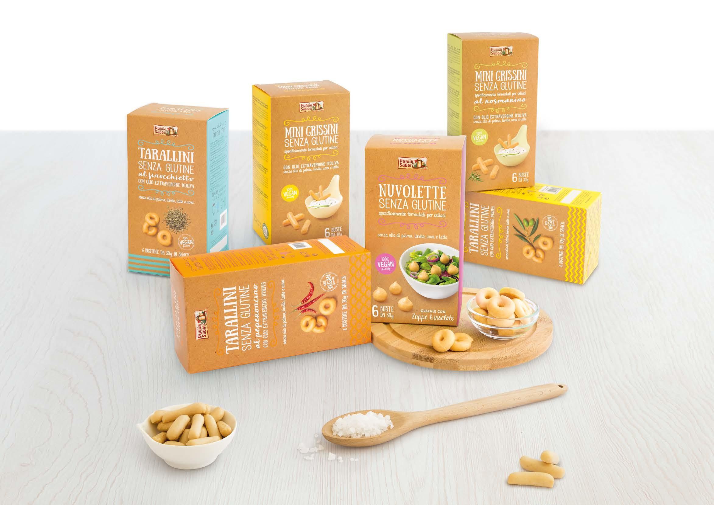 food packaging puglia sapori gluten free