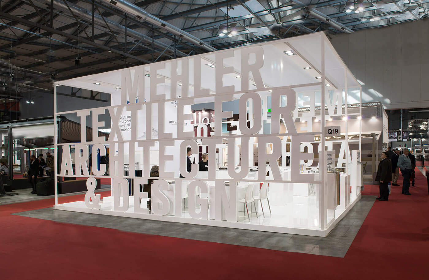 expo milano stand fieristico Mehler Texnologies,