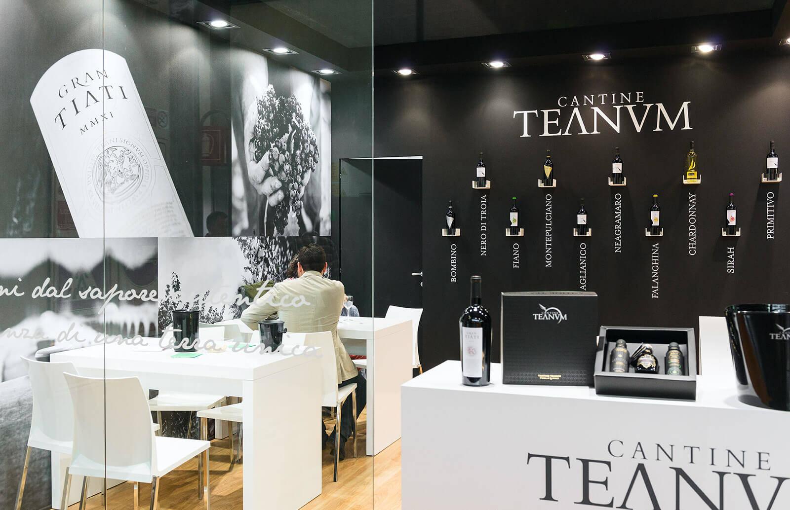 Cantine Teanum al TuttoFood Milano