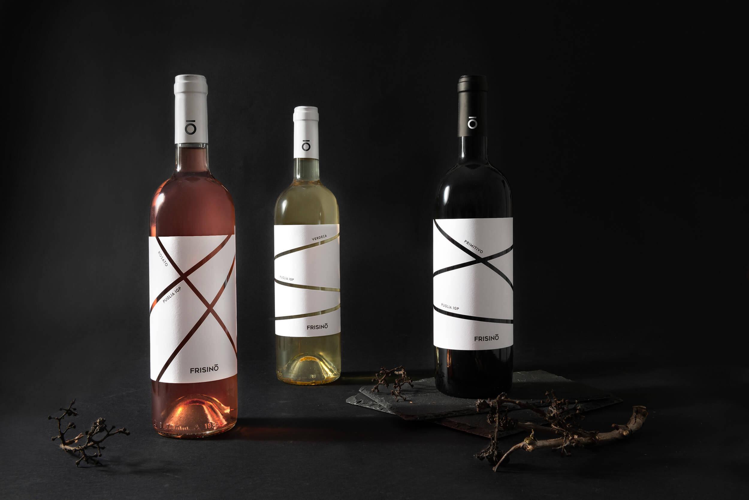 packaging vino Frisino
